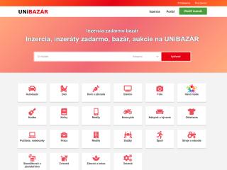 Predám inzertný portál UniBazar